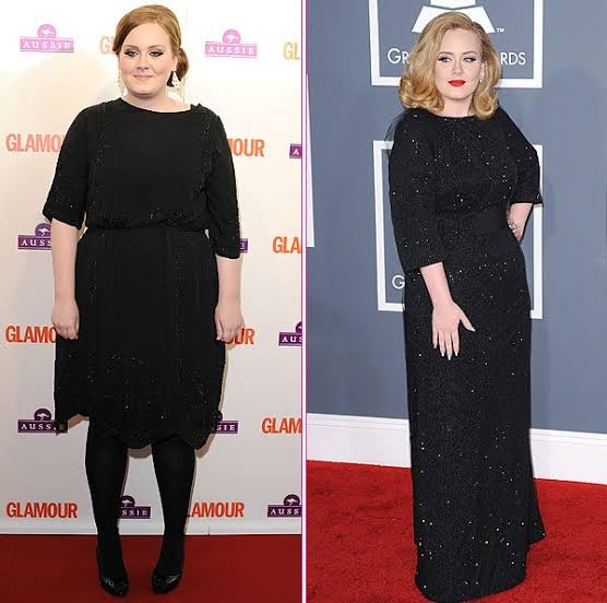 Adele shows off her incredible weight loss as she parties ...